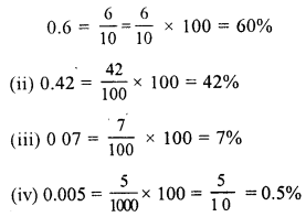 RS Aggarwal Class 7 Solutions Chapter 10 Percentage Ex 10A 8