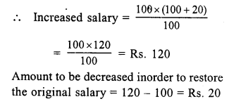 RS Aggarwal Class 7 Solutions Chapter 10 Percentage Ex 10B 15