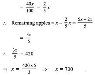 RS Aggarwal Class 7 Solutions Chapter 10 Percentage Ex 10B 4