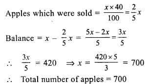 RS Aggarwal Class 7 Solutions Chapter 10 Percentage Ex 10C 11
