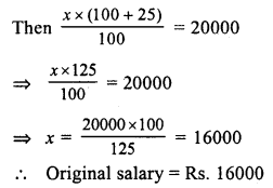 RS Aggarwal Class 7 Solutions Chapter 10 Percentage Ex 10C 9