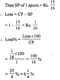 RS Aggarwal Class 7 Solutions Chapter 11 Profit and Loss Ex 11A 13