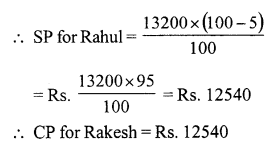 RS Aggarwal Class 7 Solutions Chapter 11 Profit and Loss Ex 11A 15