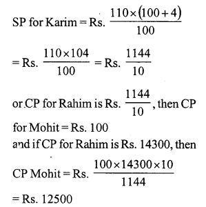 RS Aggarwal Class 7 Solutions Chapter 11 Profit and Loss Ex 11A 24