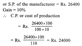 RS Aggarwal Class 7 Solutions Chapter 11 Profit and Loss Ex 11A 26