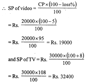 RS Aggarwal Class 7 Solutions Chapter 11 Profit and Loss Ex 11A 27