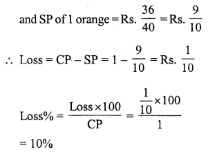 RS Aggarwal Class 7 Solutions Chapter 11 Profit and Loss Ex 11A 30