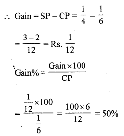 RS Aggarwal Class 7 Solutions Chapter 11 Profit and Loss Ex 11B 10