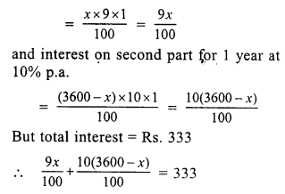 RS Aggarwal Class 7 Solutions Chapter 12 Simple Interest Ex 12A 26