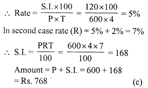 RS Aggarwal Class 7 Solutions Chapter 12 Simple Interest Ex 12B 11