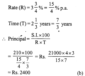RS Aggarwal Class 7 Solutions Chapter 12 Simple Interest Ex 12B 14