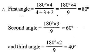 RS Aggarwal Class 7 Solutions Chapter 15 Properties of Triangles Ex 15A 1
