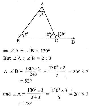 RS Aggarwal Class 7 Solutions Chapter 15 Properties of Triangles Ex 15B 10