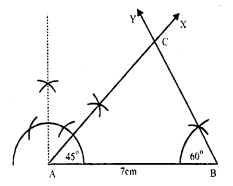 RS Aggarwal Class 7 Solutions Chapter 17 Constructions Ex 17B 10