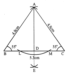 RS Aggarwal Class 7 Solutions Chapter 17 Constructions Ex 17B 4