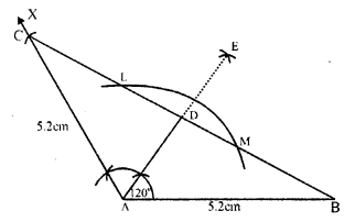 RS Aggarwal Class 7 Solutions Chapter 17 Constructions Ex 17B 7
