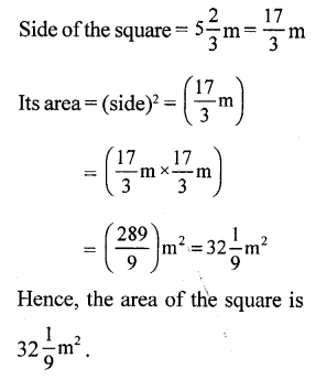 RS Aggarwal Class 7 Solutions Chapter 2 Fractions CCE Test Paper 11