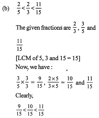 RS Aggarwal Class 7 Solutions Chapter 2 Fractions CCE Test Paper 13