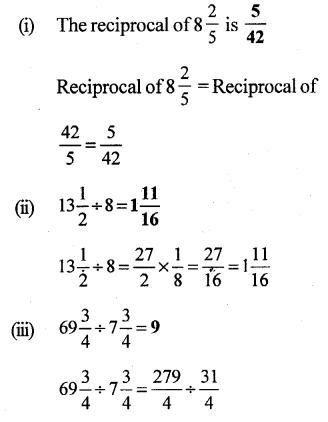 RS Aggarwal Class 7 Solutions Chapter 2 Fractions CCE Test Paper 17