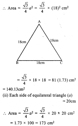 RS Aggarwal Class 7 Solutions Chapter 20 Mensuration Ex 20D 10