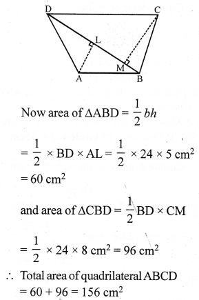 RS Aggarwal Class 7 Solutions Chapter 20 Mensuration Ex 20D 22