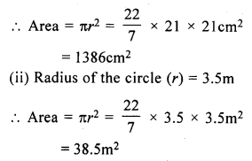 RS Aggarwal Class 7 Solutions Chapter 20 Mensuration Ex 20F 1
