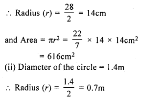 RS Aggarwal Class 7 Solutions Chapter 20 Mensuration Ex 20F 2
