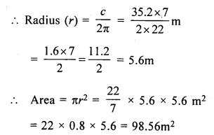RS Aggarwal Class 7 Solutions Chapter 20 Mensuration Ex 20F 5
