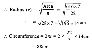 RS Aggarwal Class 7 Solutions Chapter 20 Mensuration Ex 20F 6