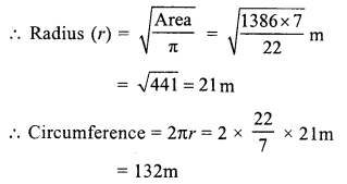 RS Aggarwal Class 7 Solutions Chapter 20 Mensuration Ex 20F 7