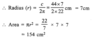 RS Aggarwal Class 7 Solutions Chapter 20 Mensuration Ex 20F 9