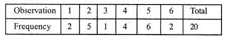 RS Aggarwal Class 7 Solutions Chapter 21 Collection and Organisation of Data Ex 21A 1
