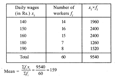 RS Aggarwal Class 7 Solutions Chapter 21 Collection and Organisation of Data Ex 21A 10