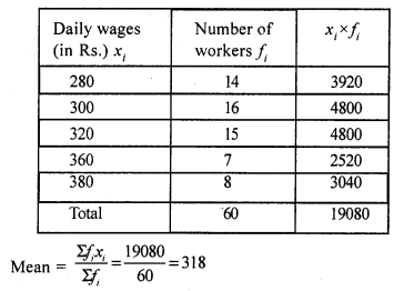 RS Aggarwal Class 7 Solutions Chapter 21 Collection and Organisation of Data Ex 21A 11