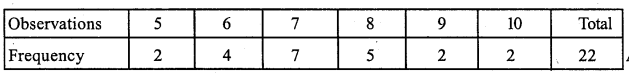 RS Aggarwal Class 7 Solutions Chapter 21 Collection and Organisation of Data Ex 21A 3