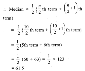 RS Aggarwal Class 7 Solutions Chapter 21 Collection and Organisation of Data Ex 21B 2