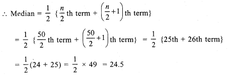 RS Aggarwal Class 7 Solutions Chapter 21 Collection and Organisation of Data Ex 21B 4