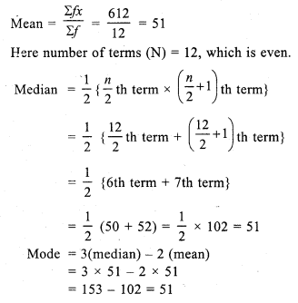 RS Aggarwal Class 7 Solutions Chapter 21 Collection and Organisation of Data Ex 21C 4