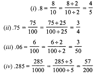 RS Aggarwal Class 7 Solutions Chapter 3 Decimals Ex 3A 1