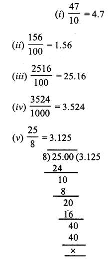 RS Aggarwal Class 7 Solutions Chapter 3 Decimals Ex 3A 3