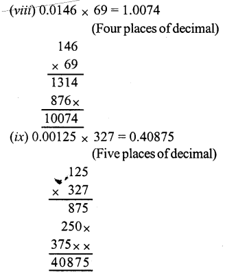 RS Aggarwal Class 7 Solutions Chapter 3 Decimals Ex 3C 3