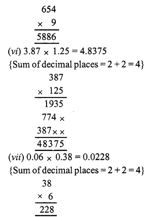 RS Aggarwal Class 7 Solutions Chapter 3 Decimals Ex 3C 6