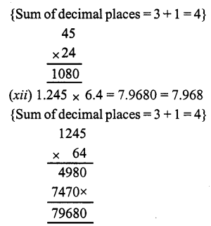 RS Aggarwal Class 7 Solutions Chapter 3 Decimals Ex 3C 8