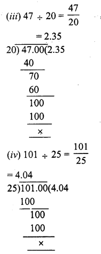 RS Aggarwal Class 7 Solutions Chapter 3 Decimals Ex 3D 2