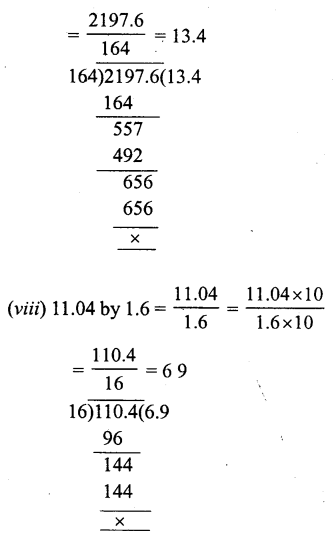 RS Aggarwal Class 7 Solutions Chapter 3 Decimals Ex 3D 20