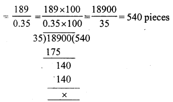 RS Aggarwal Class 7 Solutions Chapter 3 Decimals Ex 3D 32