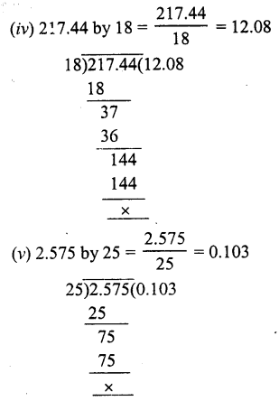 RS Aggarwal Class 7 Solutions Chapter 3 Decimals Ex 3D 6