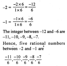 RS Aggarwal Class 7 Solutions Chapter 4 Rational Numbers CCE Test Paper 3