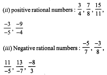 RS Aggarwal Class 7 Solutions Chapter 4 Rational Numbers Ex 4A 1