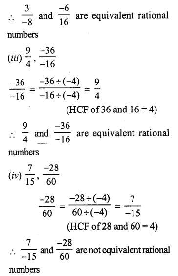 RS Aggarwal Class 7 Solutions Chapter 4 Rational Numbers Ex 4A 21